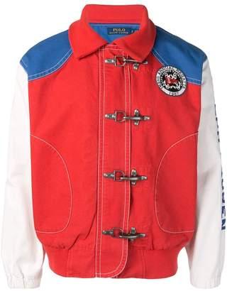 Polo Ralph Lauren colour-block bomber jacket