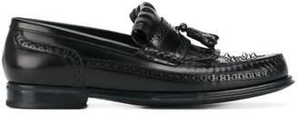 Dolce & Gabbana studded fringe loafers