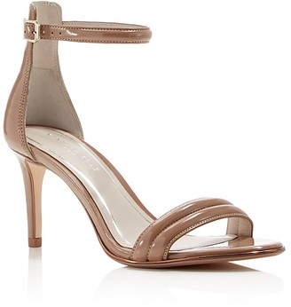Kenneth Cole Mallory Ankle Strap Mid Heel Sandals $130 thestylecure.com