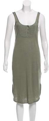 Frame Sleeveless Midi Dress