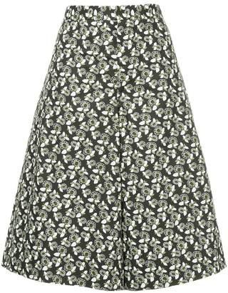 Marni a-line floral culottes