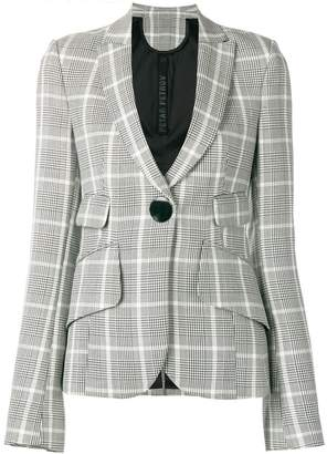 Petar Petrov checked fitted blazer