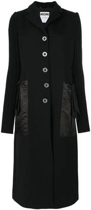Moschino single breasted coat