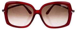 Tom Ford Paloma Square Sunglasses