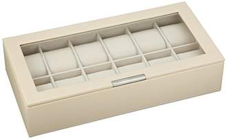 Wolf 309853 Stackable 12 Piece Watch Tray with Lid