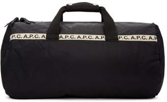 A.P.C. Black Maybellene Gym Bag