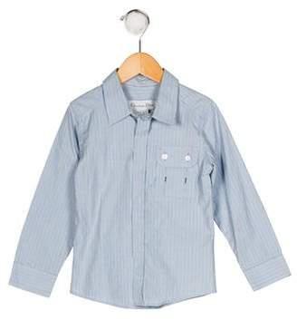 Christian Dior Boys' Stripe Button-Up Shirt