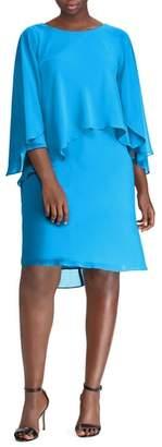 Lauren Ralph Lauren Capelet Shift Dress