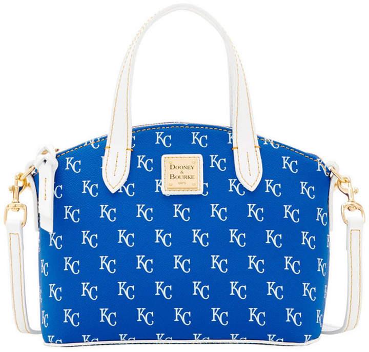 Dooney & Bourke Kansas City Royals Ruby Mini Crossbody Satchel - BLUE/WHITE - STYLE
