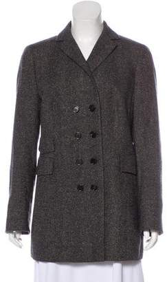 Akris Double-Breasted Wool Coat