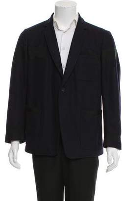 Dries Van Noten Grosgrain-Trimmed Wool Jacket