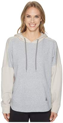 Reebok French Terry Long Sleeve Cover-Up Women's Clothing