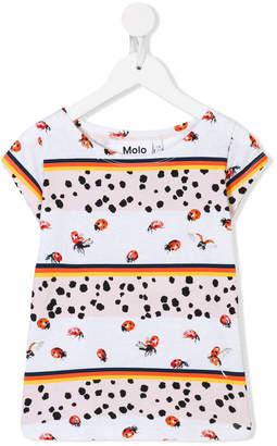 Molo ladybug print T-shirt