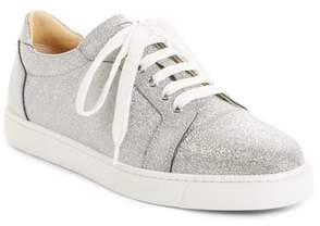 Christian Louboutin Vieira Glitter Low Top Sneaker