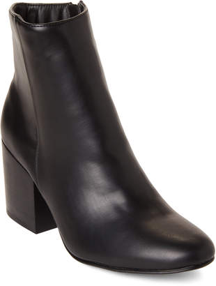 Madden-Girl Black Aaden Ankle Booties