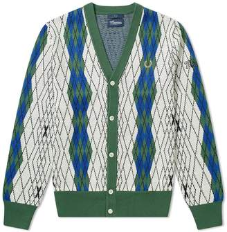 Fred Perry Authentic x Thames Argyle Cardigan