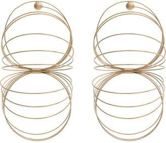 Y/Project Y / Project gold-tone slinky earrings