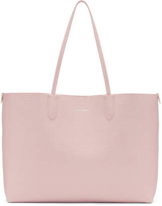 Alexander McQueen Pink Medium Lino Shopper Tote