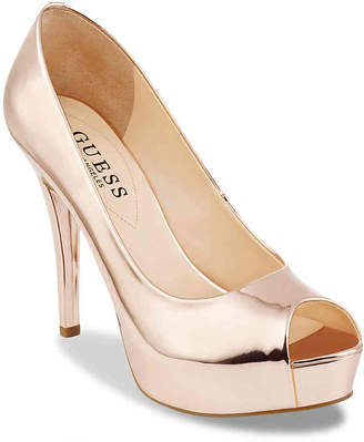 GUESS Patches Platform Pump - Women's