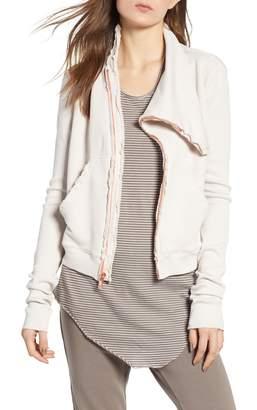 Frank And Eileen TEE LAB Asymmetrical Zip Fleece Jacket
