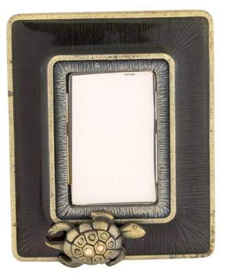 Jay Strongwater Turtle Picture Frame Olive Turtle Picture Frame