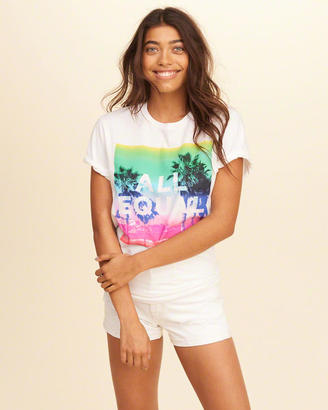 Hollister Pride Collection Graphic Tee $19.95 thestylecure.com