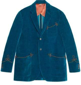 Gucci Velvet jacket