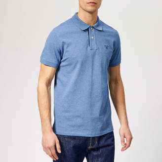 4bb5f9be4cbad6 Mens Blue Shirt With Contrasting Collar And Cuffs - ShopStyle UK