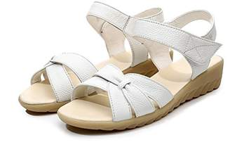 9a67047e589a at Amazon Canada · Dahanyi heeled-sandals Dahanyi Stylish Plus Size Flat  Summer Sandals for Women New Mother Shoes