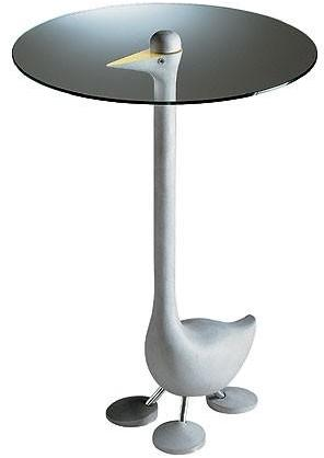 Zanotta - sirfo goose table by alessandro mendini