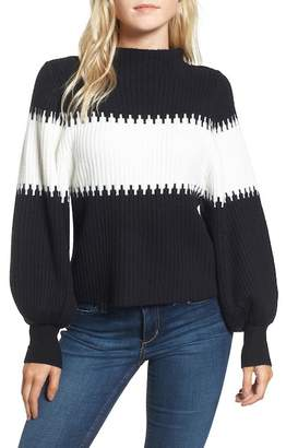 French Connection Sofia Puff Sleeve Sweater