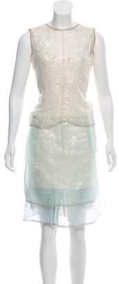 Marc Jacobs Embellished Sleeveless Dress
