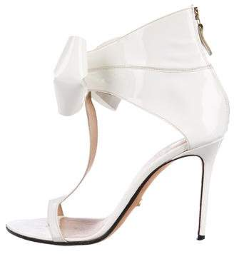 Viktor & Rolf Patent Leather Sandals