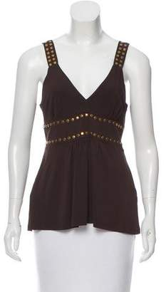 Michael Kors Embellished Sleeveless Top