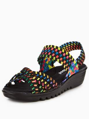 Low Wedge Sandals Shopstyle Uk