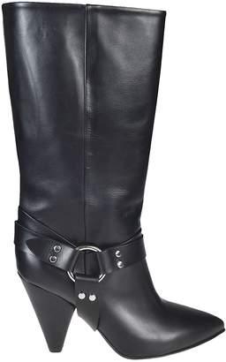 Buttero Rose Cone Heel Stirrup Boots
