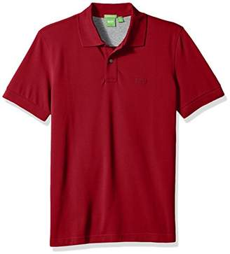 HUGO BOSS BOSS Green Men's C-Firenze Regular Fit Knitted Pique Polo