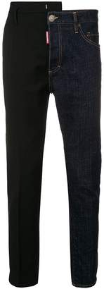 DSQUARED2 contrast panels jeans