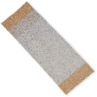 Leila's Linens R.L.K By Metal Beaded Table Runner