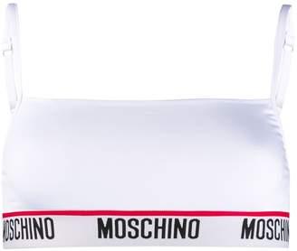 Moschino microfibre sports bra