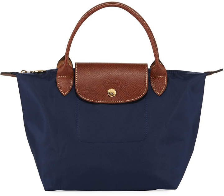Longchamp Le Pliage Small Handbag - DARK BLUE - STYLE