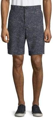 Dockers Printed Cotton-Blend Chino Shorts