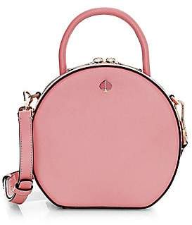 Kate Spade Women's Andi Round Canteen Leather Crossbody Bag