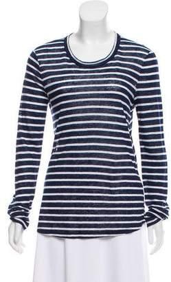 A.L.C. Linen Long Sleeve Top