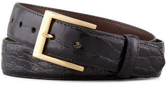 W.KLEINBERG W. Kleinberg Glazed Alligator Belt