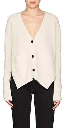 Proenza Schouler Women's Rib-Knit Cotton-Blend Cardigan - Beige, Tan