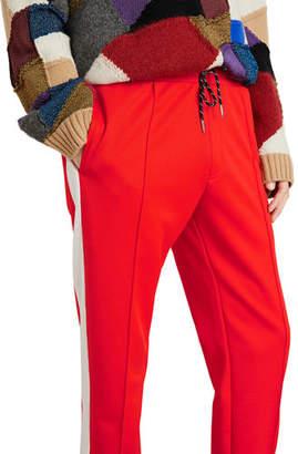 Burberry Men's Side-Stripe Sweatpants