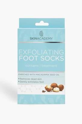 boohoo Exfoliating Foot Socks