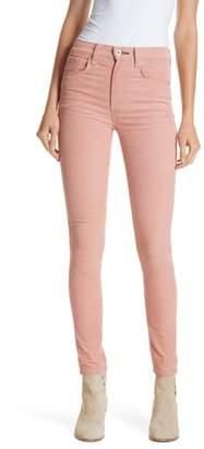 Rag & Bone High Waist Ankle Skinny Corduroy Pants