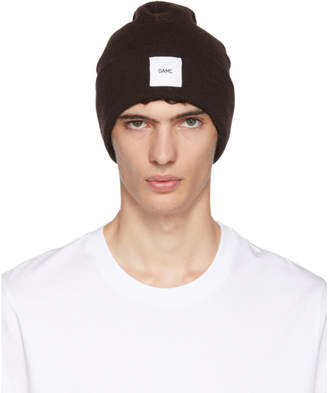 Oamc Brown Wool Watch Beanie